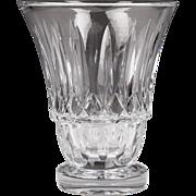 Large Vintage Baccarat Crystal Cut Vase
