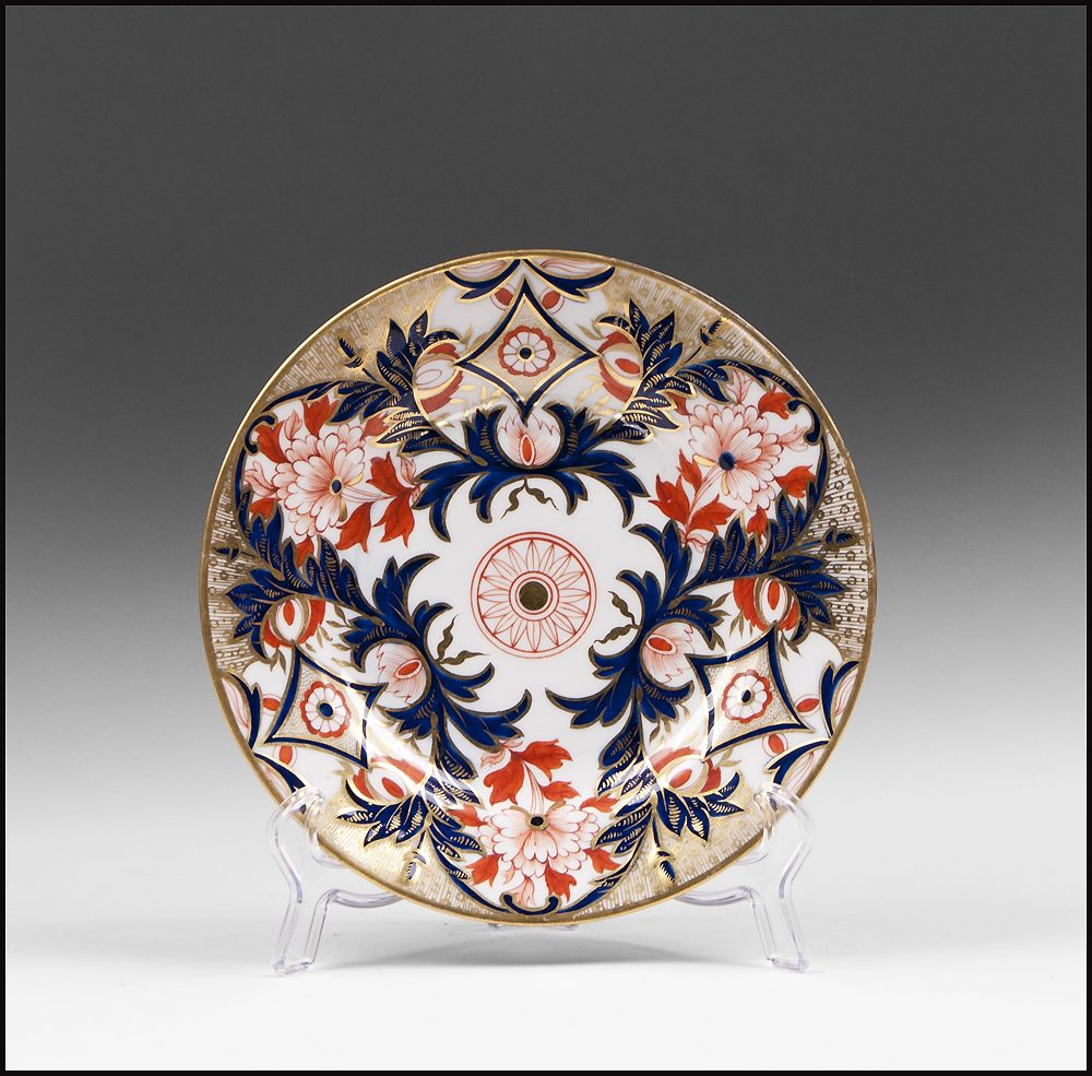 Early 19th C. English Derby Imari Pattern Plate