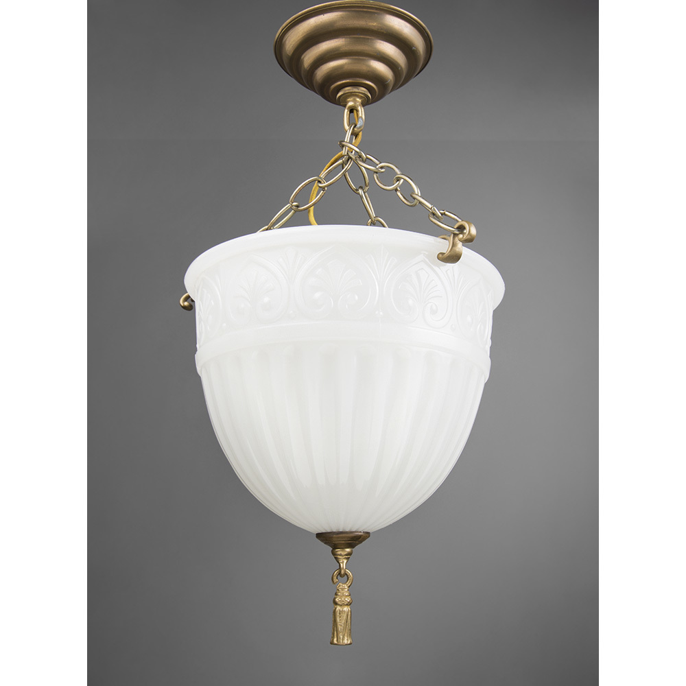 Peerlite Milk Glass Hanging Pendant Light From Piatik On