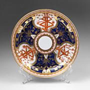 "1805 Spode Dish, Imari ""Dollar"" Pattern 715"