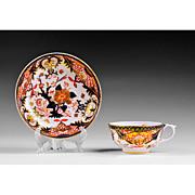 Bloor Period Derby Cup & Saucer, 1800-25, Imari Pattern