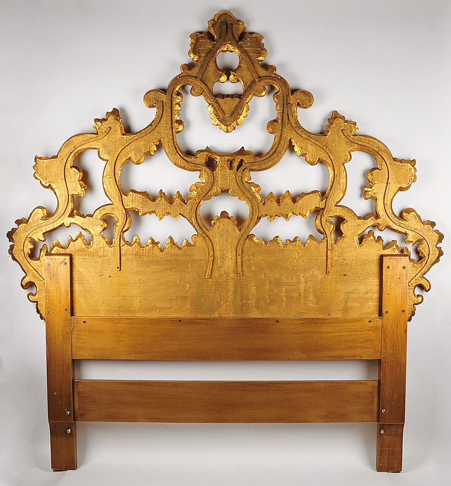 Carved Headboard White Bohomiean Chic Style Home