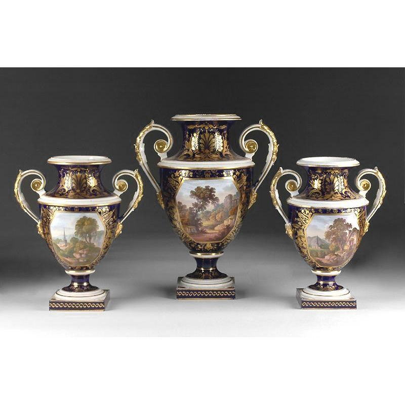 Derby 3-Piece Named Scene Garniture Set