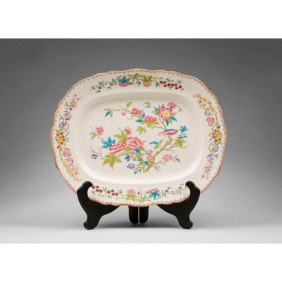 1879 Mintons or Minton Serving Platter