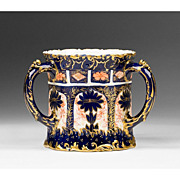 Royal Crown Derby Late 19th Century Triple Handle Loving Cup