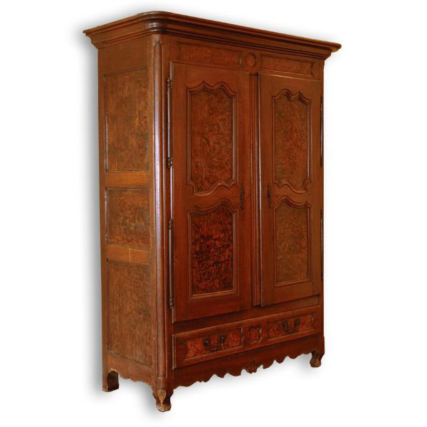 18th century french provincial louis xvi armoire pia 39 s antique gallery ruby lane. Black Bedroom Furniture Sets. Home Design Ideas