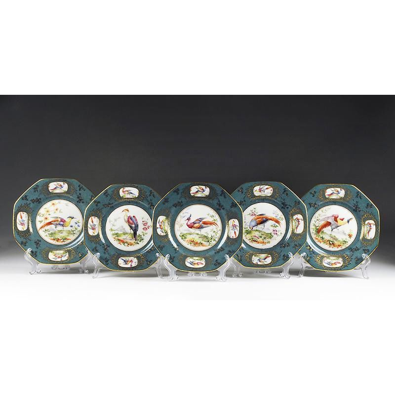 10 Royal Doulton Plates for Tiffany & Company
