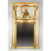 Belle Epoque French Trumeau Mantle Mirror