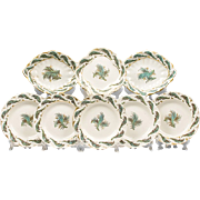 Early 19th C. Set of Samuel Alcock Dessert Plates, 9 Pcs.