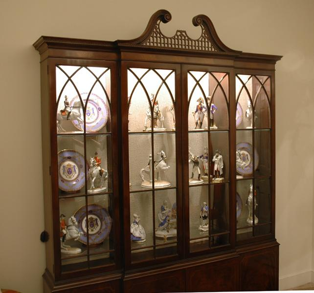 Breakfront China Cabinet Cabinets Matttroy