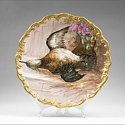 Lazeyras, Rosenfeld, & Lehman Limoges Game Bird HP Wall Plate