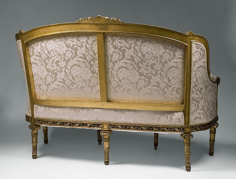 louis xvi sofa louis xvi settee 1760 1789 french antiques. Black Bedroom Furniture Sets. Home Design Ideas