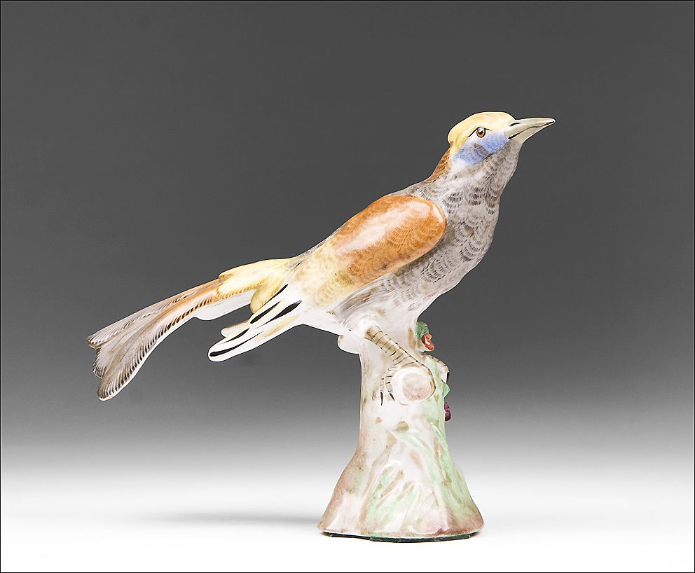 Bourdois & Achille Bloch Porcelaine de Paris Figure of Bird