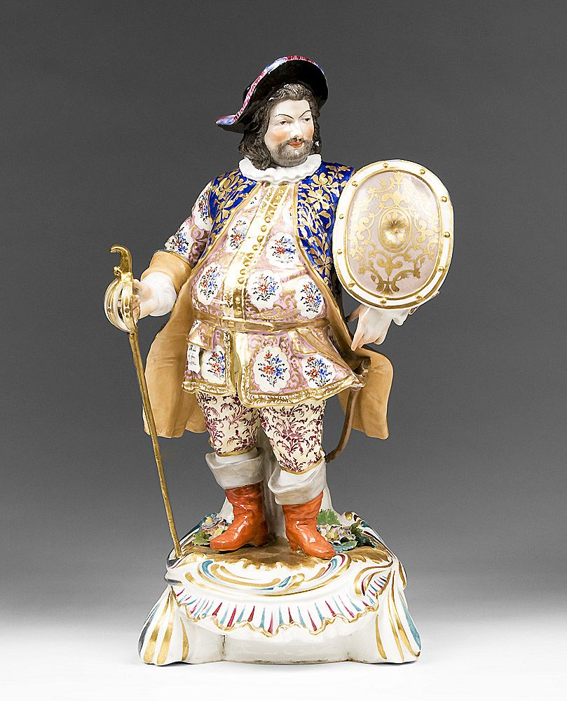 Derby Porcelain Figure of James Quinn As Falstaff, 1806-1825