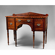 1820 Small Scale English Regency Rosewood and Mahogany Sideboard
