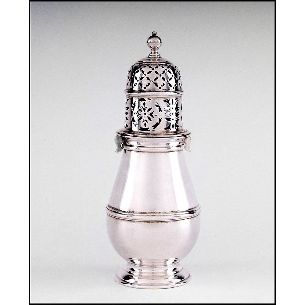 Sterling Silver Sugar Caster Or Castor, London, 1932