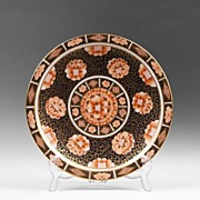 1877-1890 Royal Crown Derby Imari Patterned Plate