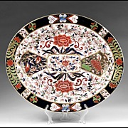 Late 19th C. Royal Crown Derby Oval Imari Platter