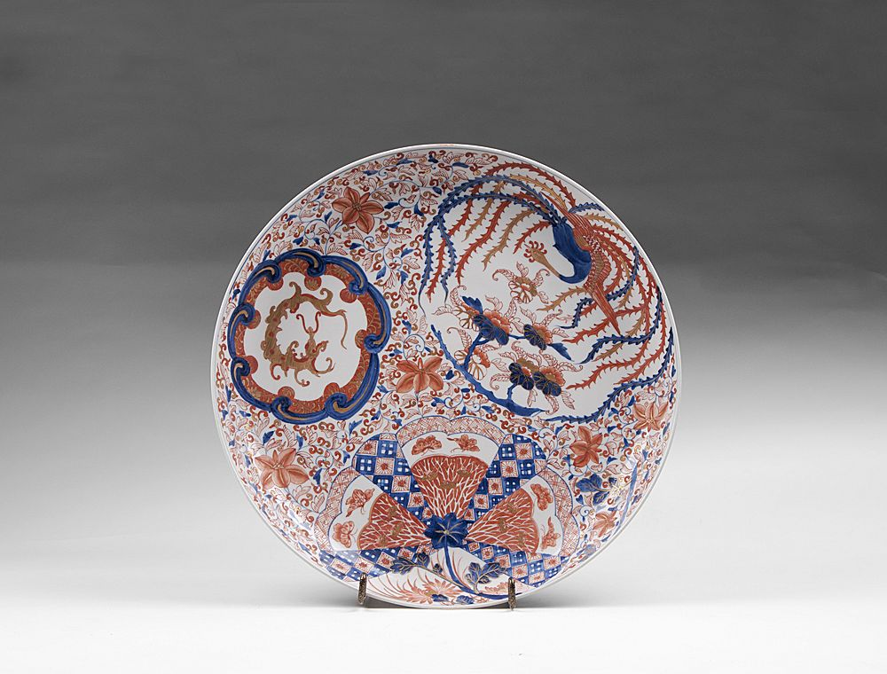 Japanese Meiji Period Imari Charger