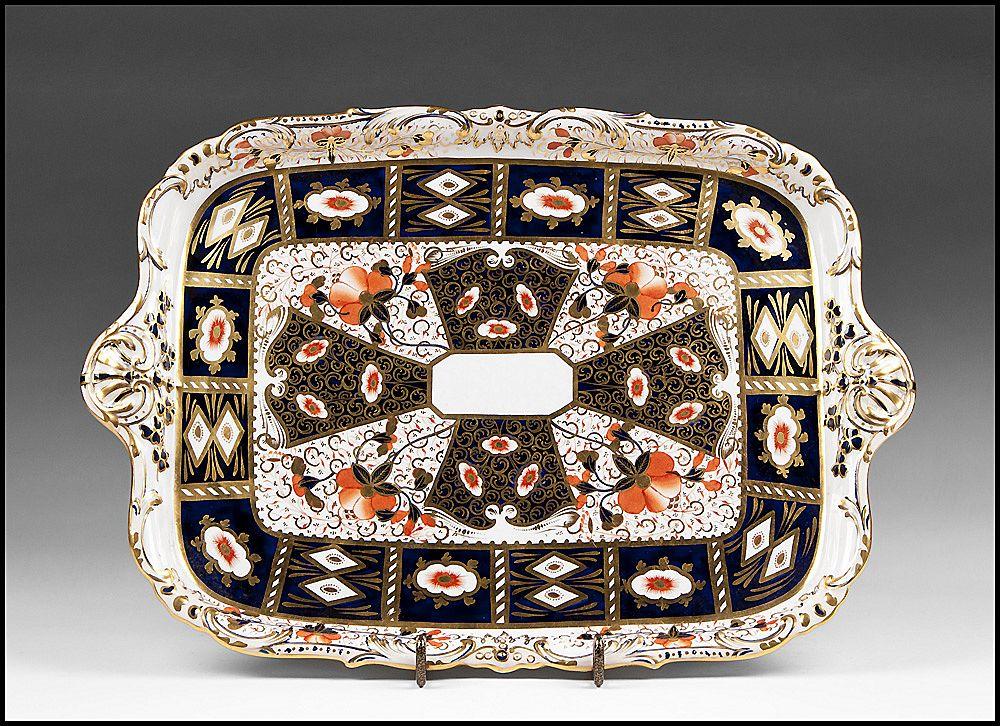 19th C. Davenport Imari Decorated Tea Tray