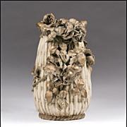 Riessner & Kessel Amphora Pottery Floral Vase