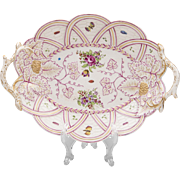 18th Century Royal Worcester Molded Dish, 1765