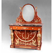 French Empire Bronze Mounted Dresser After Jacob Desmalter