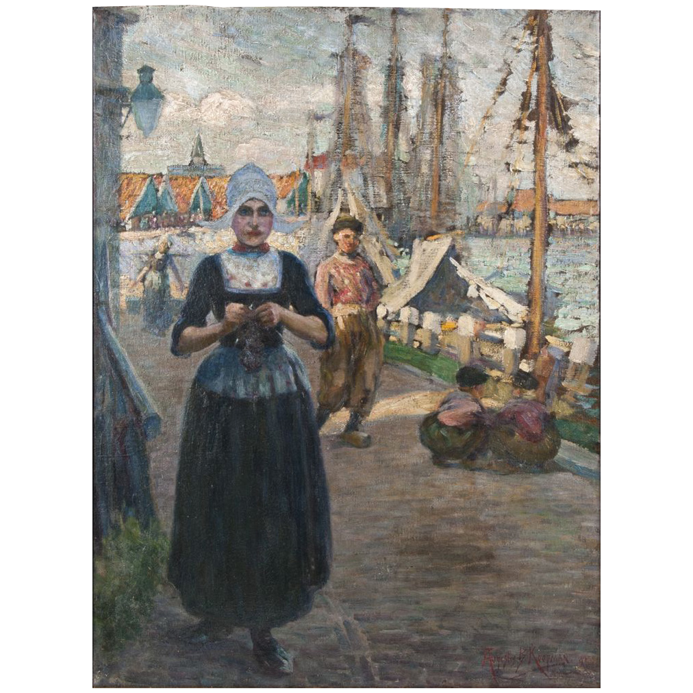 Augustus Koopman Oil on Canvas