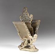 19th C. French Art Nouveau Letter Rack