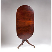 Regency Tilt Top Oval Table