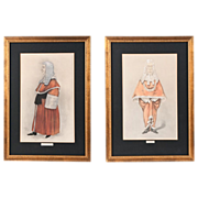 Pair of Vanity Fair Spy Prints, Legal Series