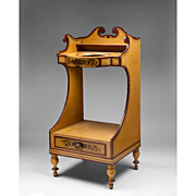 Sheraton Paint Decorated Washstand, Circa 1830