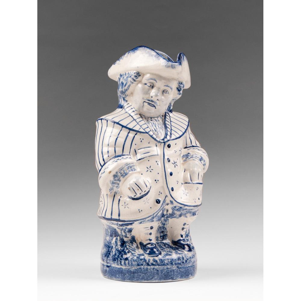 Delft Blue & White Toby Jug