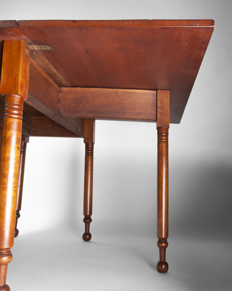 19th C. American Cherry Drop Leaf Gate Leg Dining Table from ...