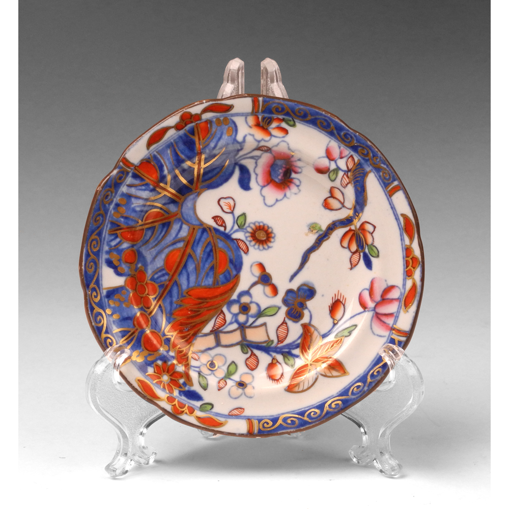 Early 19th C. Spode China Imari Pattern Saucer