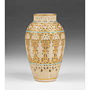 1890 Grainger Worcester Reticulated Vase