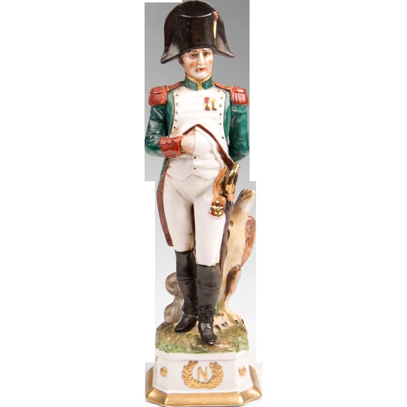Capodimonte Porcelain Soldier of Napoleon