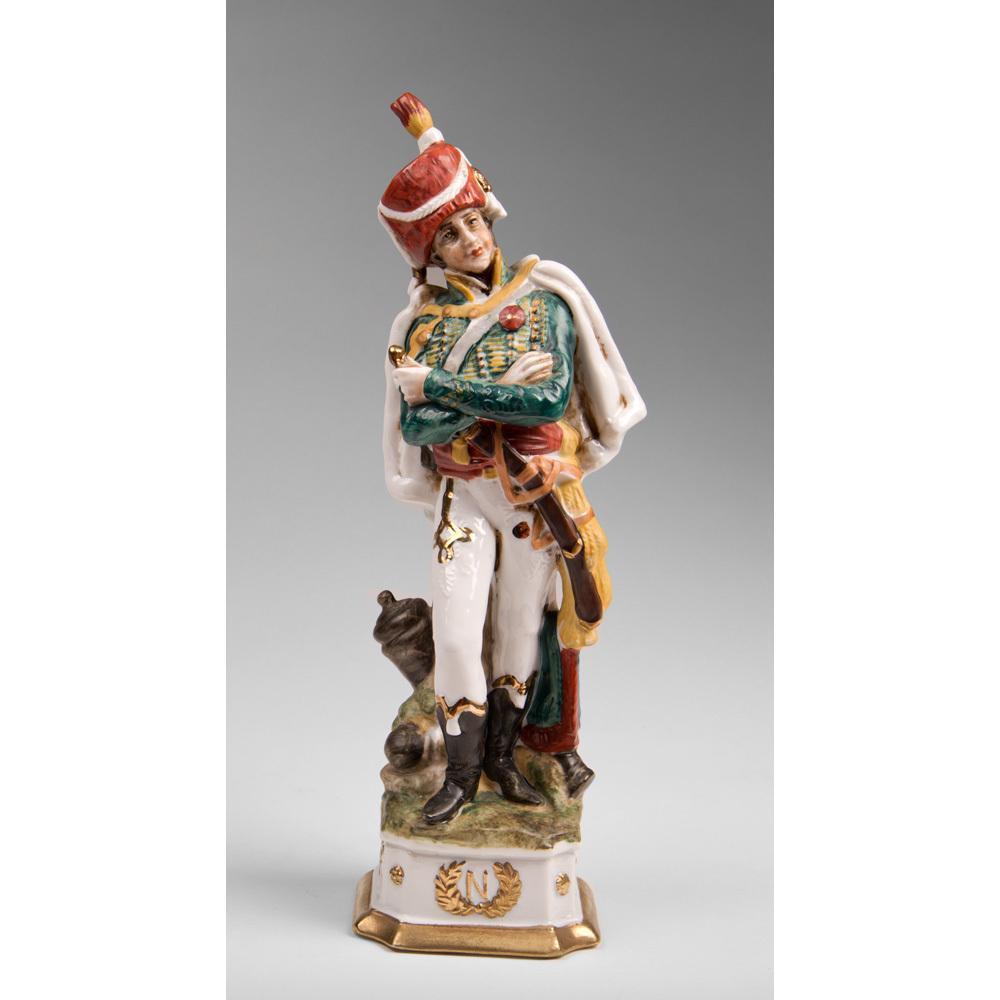 Capodimonte Porcelain Soldier of General Marceau