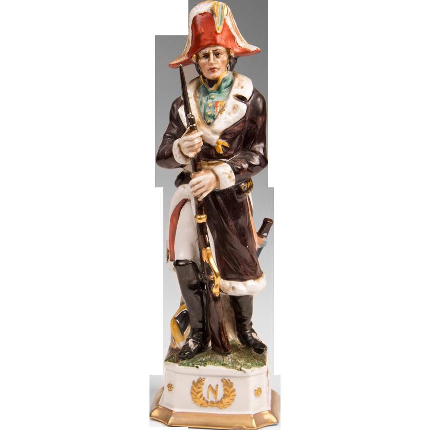 Capodimonte Porcelain Soldier of Napoleonic General