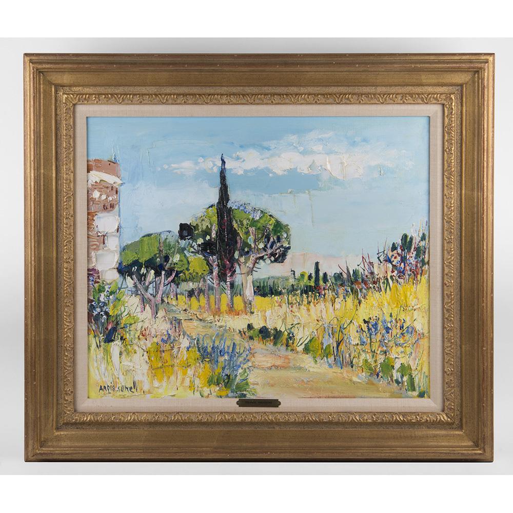 Yolande Ardissone Oil On Canvas