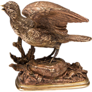 19th C. Bronze Sculpture by Paul Edouard Delabrierre