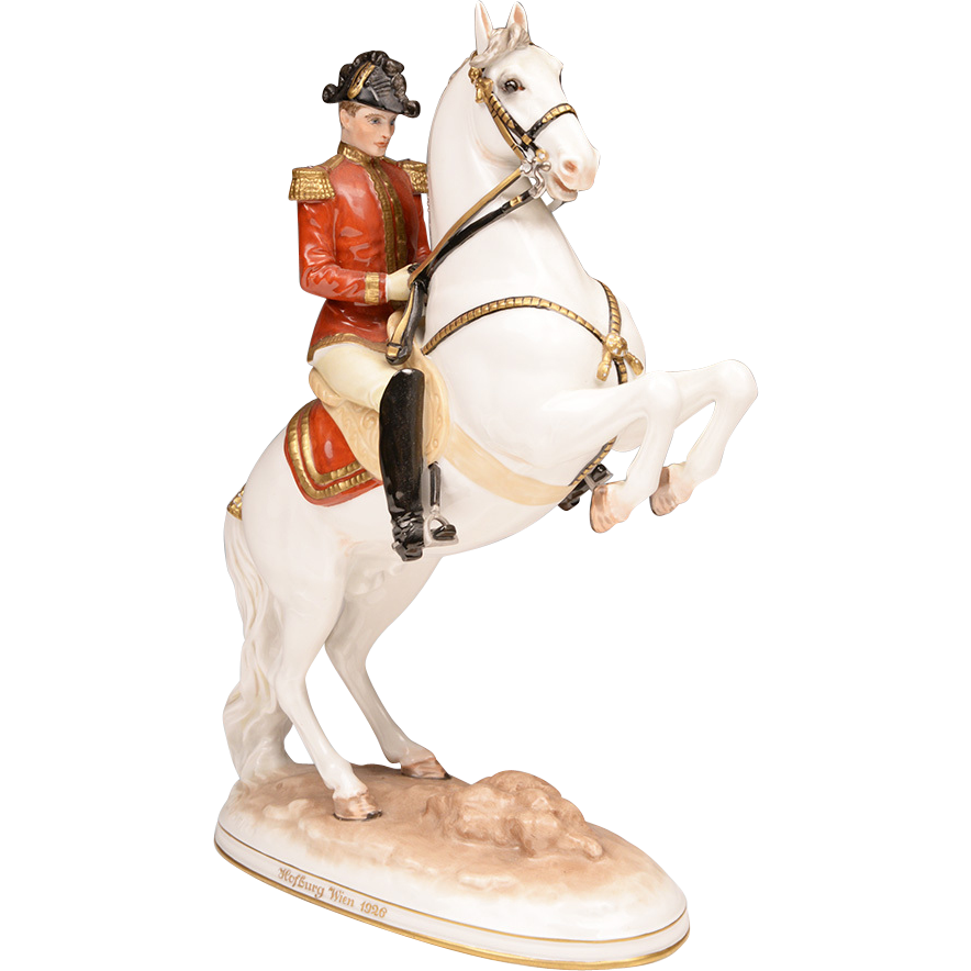 Royal Vienna Wien Augarten Spanish Riding School Figurine