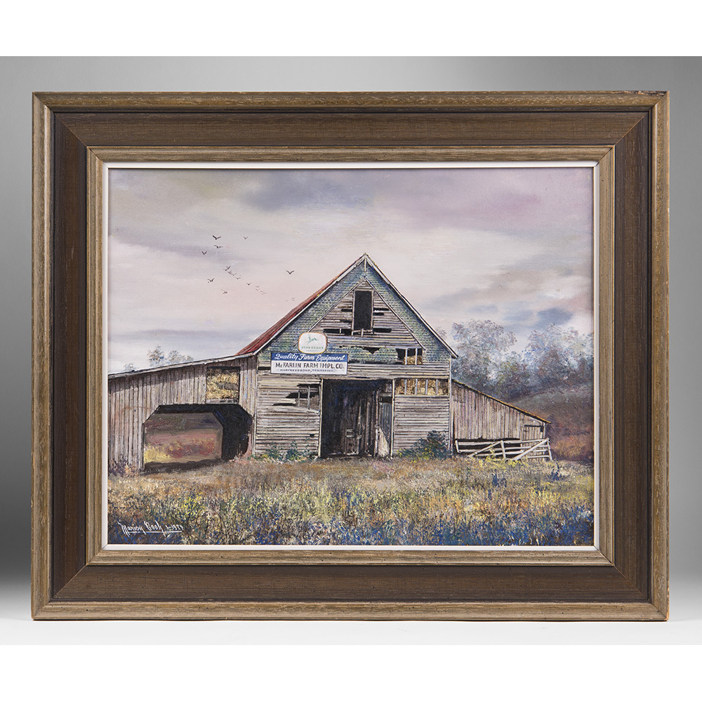Oil On Canvas by Tennessee Artist Marion Cook