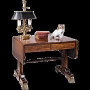 Period English Regency Rosewood Sofa Table