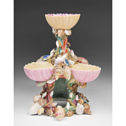 Chamberlain Worcester Porcelain Sweetmeat Stand