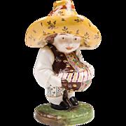 Late 18th C. Derby Porcelain Mansion House Dwarf