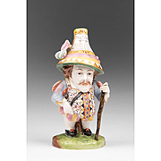 Late 18th C. Derby Porcelain Mansion House Dwarf