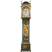 Late 18th C. Japanned Longcase Clock By Thomas Butterfield