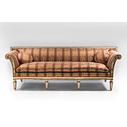 Late 19th C. Swedish Gustavian Neoclassical Sofa