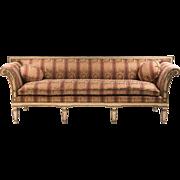 Late 19th C. Swedish Gustavian Neoclassical Sofa